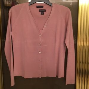 Ladies cardigan and matching shell